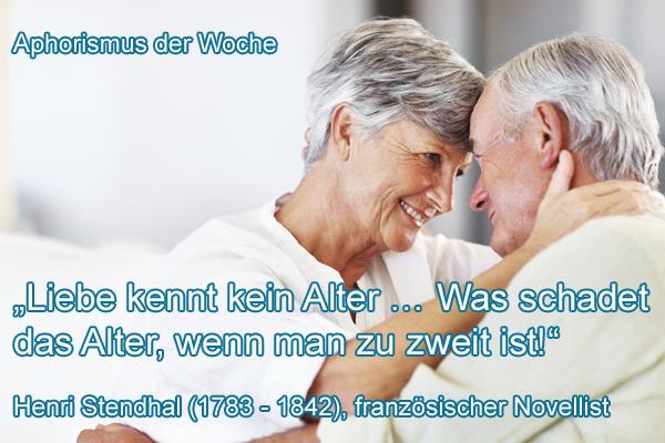Liebe im Alter ist etwas wunderbares