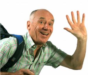 Reisen und Ausfluege im Alter werden von Senioren gern und oft durchgefuehrt