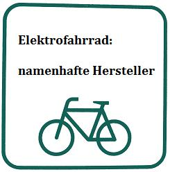 Hersteller von Elektrofahrrädern im Details