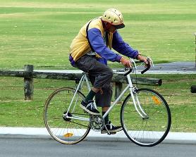 Senioren können durchs Fahrradfahren ihre Gesundheit verbessern