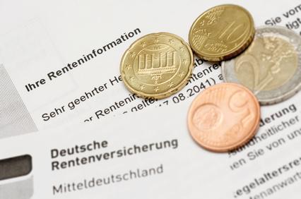 Die Rentenreform 2014 wird durch Schwarz-Geld veranlasst