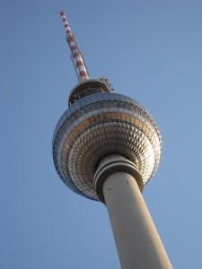 Der Berliner Fernsehturm ist die beste Ausblicksmöglichkeit auf die Stadt