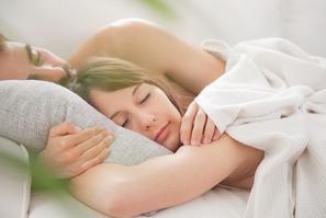 Schlafen und Erholung finden