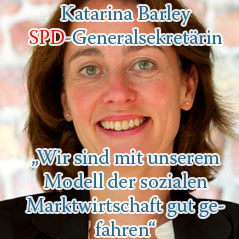 Katarina Barley im Renteninterview