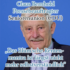 Rentenpolitik-Bernhold