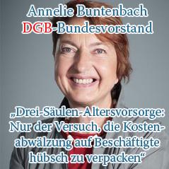Buntenbach Rentenpolitik