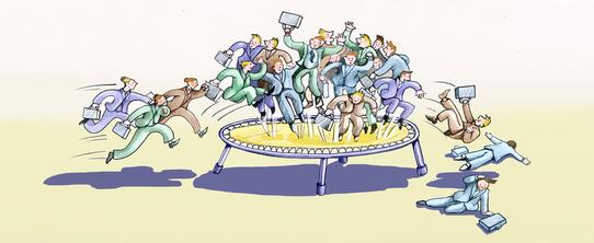 Hartz Reformen Trampolin