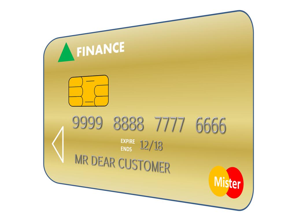 Kauf auf Pump Kreditkarte