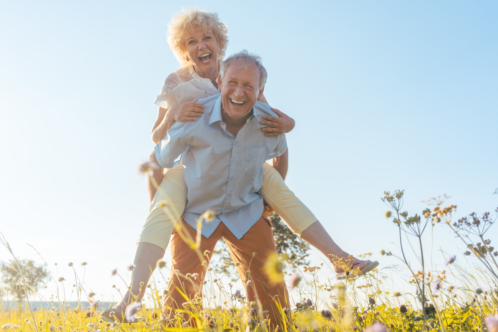 Lebensfreude im Alter