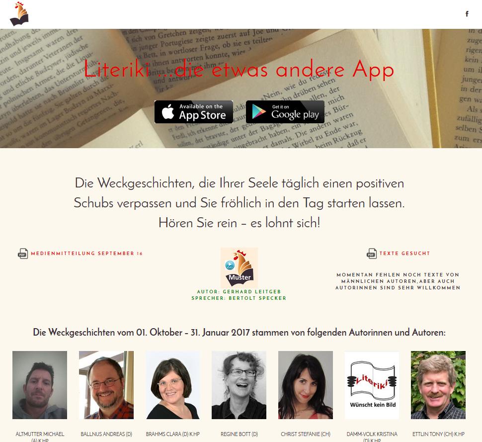 Literiki Geschichten App