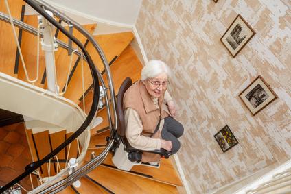 Pflegegrade Treppenlift