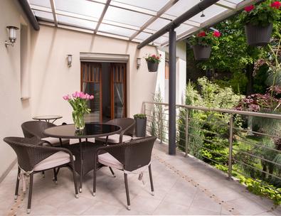 Alu terrassenüberdachung selber bauen