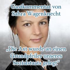 Wagenknecht Kommentar 2019